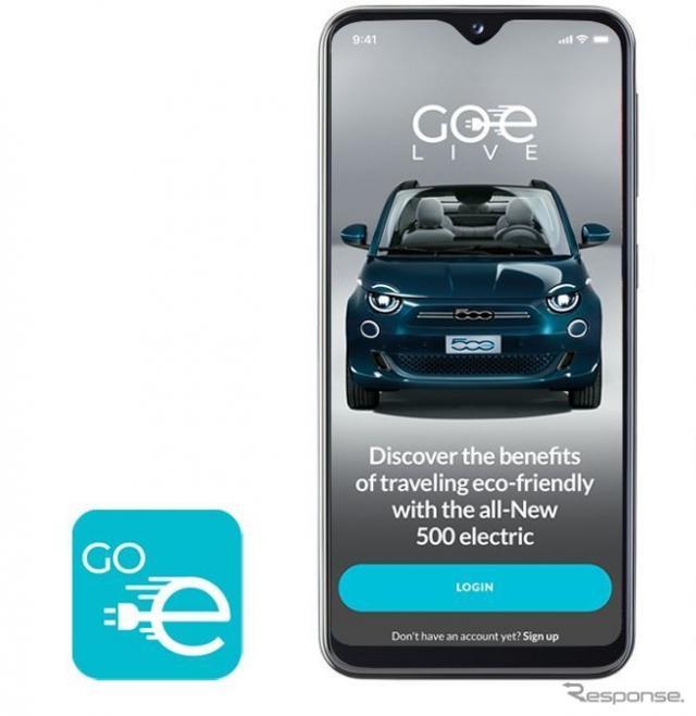 フィアット 500 新型をバーチャル体験できるアプリ「Fiat GOe LIVE」《photo by Fiat》