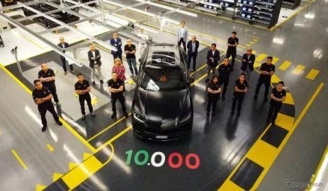 ランボルギーニの高性能SUV『ウルス』、1万台目がラインオフ…発表から2年半