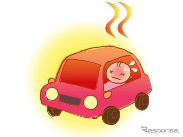 子どもやペットを車内に残したままのキー閉じこみ…短時間で死に至る可能性