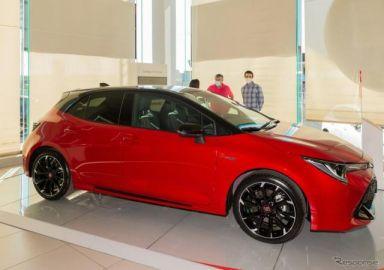 カローラ GR SPORT 新型、トヨタの欧州300万台目のハイブリッド車に