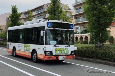 ブリヂストングループ、中型自動運転バス実証実験にタイヤモニタリングシステムを提供
