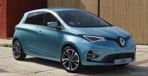 ルノーEV販売、欧州で30万台を突破…EV最量販ブランドに