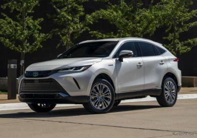 トヨタ ハリアー 新型、米国版『ヴェンザ』はハイブリッド専用車に 9月発売