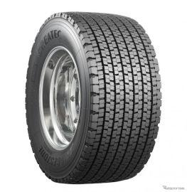 ブリヂストン、大型トラック用超偏平シングルスタッドレス「グレイテック W953」発売へ