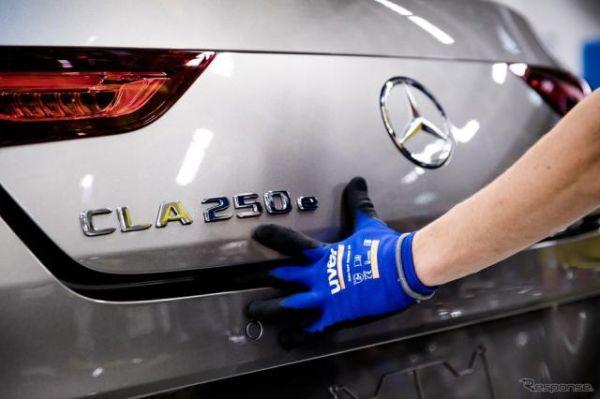 メルセデスベンツ CLA 新型に新世代PHV「EQパワー」…生産開始