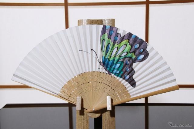 風彩染 せんす作り《写真提供 LEXUS NEW TAKUMI PROJECT PR事務局》