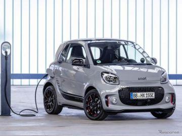 スマートの次世代EV、ブランド初のプレミアムBセグメント車に…2022年発売へ