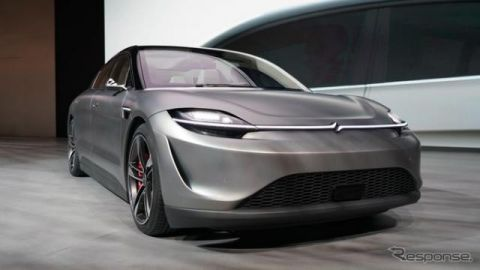 ソニー初の自動車『VISION-S』、東京で開発テストへ