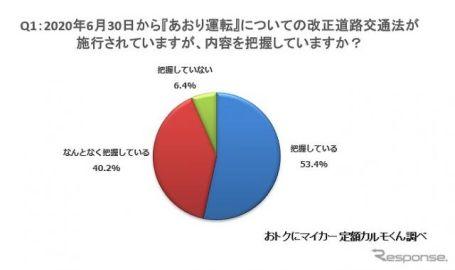 改正道交法施行、「ドライバーの運転に変化あり」22.1%が回答 定額カルモくん調べ