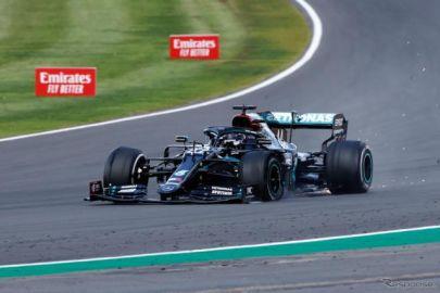 【F1 イギリスGP】タイヤパンクもハミルトンが優勝…レッドブル・ホンダのフェルスタッペンが2位