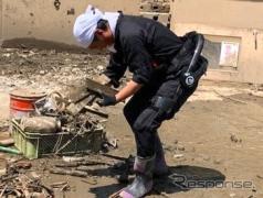 災害復旧にサイバーダイン『HAL』を無償貸与、作業負荷低減 令和2年7月豪雨