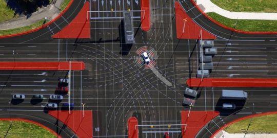 ボッシュ、市街地の自動運転で車両とインフラの連携に成功…メルセデスベンツなどとの研究プロジェクト