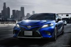 トヨタ カムリ、40周年記念特別仕様車を発売…一部改良で安全装備も強化