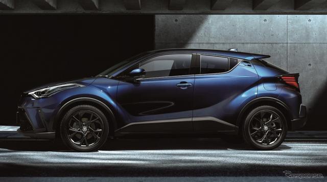 トヨタ C-HR G モード-ネロ セーフティプラス(ネビュラブルーメタリック)《写真提供 トヨタ自動車》