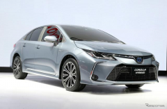 トヨタ、通期純利益予想を7300億円と公表…第1四半期は74%減益