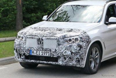BMW X3、現行モデル初の大幅改良へ…2021年後半デビューか
