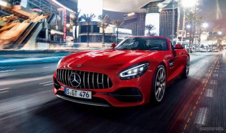 メルセデスAMG GT/GTロードスター、530psにパワーアップ 特別仕様車も設定