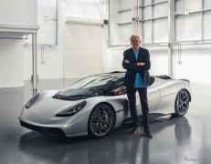ゴードン・マレー、新型スーパーカー『T.50』発表…986kgの軽量ボディに700馬力V12搭載