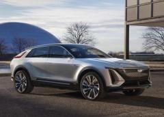 キャデラック初のEV、『リリック』発表…新世代の電動クロスオーバー車に