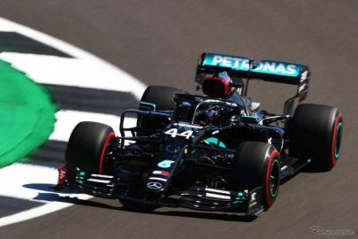 【F1 70周年記念GP】ハミルトン、ボッタスのメルセデスがワンツー…リカルド3番手、フェルスタッペン4番手