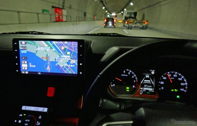 新型タフトで装備したACCは30km/h〜125km/hの範囲内で設定できるようになった《写真撮影 会田肇》