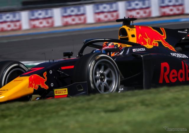 #7 角田裕毅(2020年FIA-F2第5戦シルバーストン)《写真提供 Honda》
