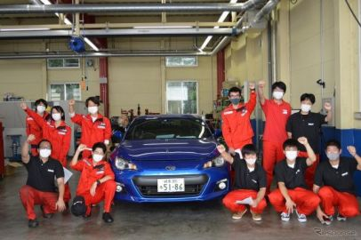 ラリージャパン参戦を目指す学生たち、中日本自動車短期大学の挑戦がスタート