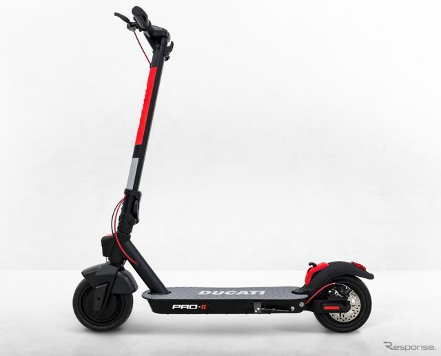 電動キックボードの例:ドゥカティの電動キックボード「Pro II」《photo by Ducati》