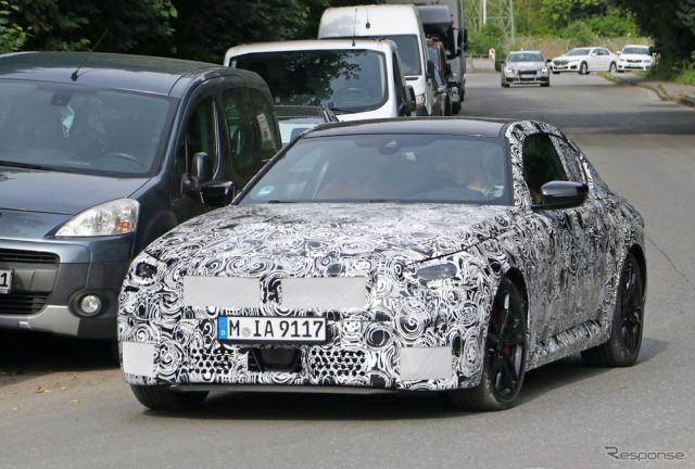BMW 2シリーズクーペ 次期型プロトタイプ(スクープ写真)《APOLLO NEWS SERVICE》