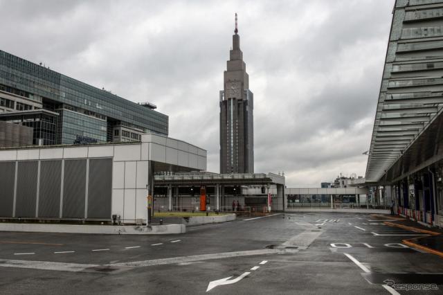 バスタ新宿(5月19日)《Photo by Carl Court/Getty Images News/ゲッティイメージズ》