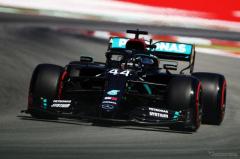 【F1 スペインGP】フリー走行2回目はハミルトン、ボッタスの順でメルセデスのワンツー
