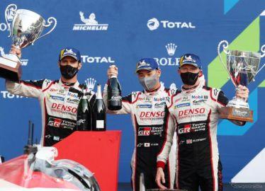 【WEC 19/20第6戦】シーズン再開のスパ・フランコルシャン戦、トヨタが1-2で制す…優勝は7号車の小林可夢偉組