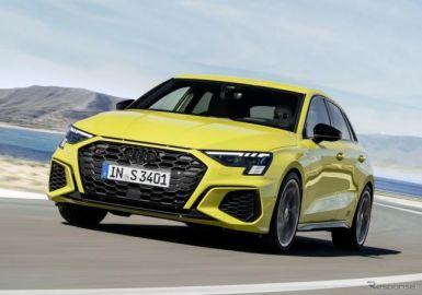 アウディ S3スポーツバック 新型、2.0ターボは310馬力…欧州発表