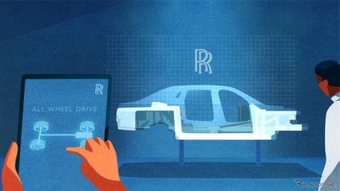 ロールスロイス ゴースト 次期型に世界初の技術、「マジックカーペット」な乗り心地とハンドリング性能を両立[動画]