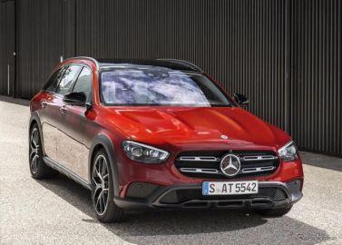 メルセデスベンツ Eクラス のSUV、「オールテレーン」に改良新型…欧州発売
