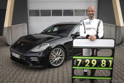 ポルシェ パナメーラ 改良新型、世界最速のエグゼクティブカーに…ニュルブルクリンクで新記録