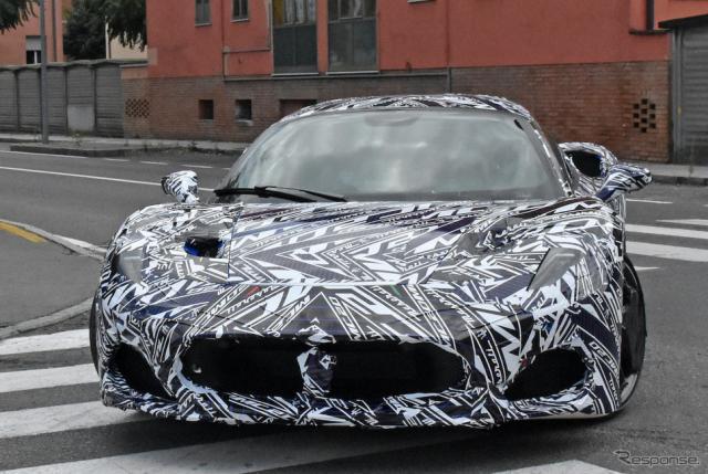マセラティの新型スーパーカー『MC20』市販型プロトタイプ(スクープ写真)《APOLLO NEWS SERVICE》