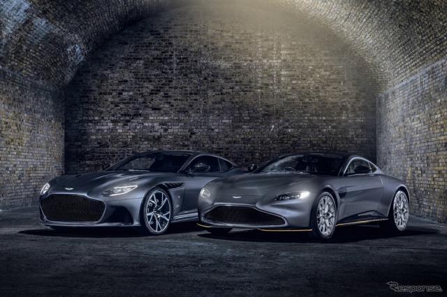 アストンマーティン DBS スーパーレッジェーラ 007エディションとヴァンテージ 007エディション《photo by Aston Martin》