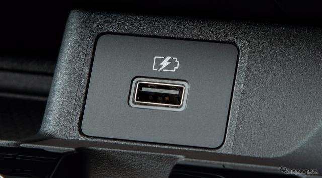 USB電源ソケット《写真提供 日産自動車》