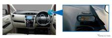 ペダル踏み間違い時加速抑制アシスト《写真提供 三菱自動車》
