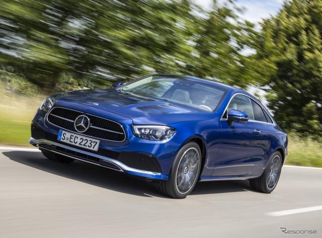 メルセデスベンツ Eクラス・クーペ 改良新型《photo by Mercedes-Benz》