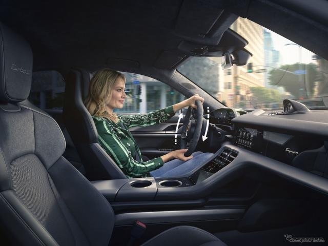 ポルシェ・タイカン の2021年モデル《photo by Porsche》