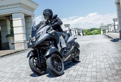 前2輪バイクのヤマハLMW、第4弾『トリシティ300』日本導入 価格は95万7000円