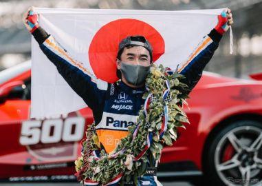 【第104回インディ500】佐藤琢磨、勝因は「誰もが素晴らしい仕事をした」ことと「みなさんの応援」…最多勝記録挑戦にも期待