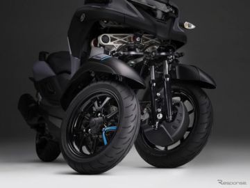 「転ばないバイク」へ前進!ヤマハ トリシティ300 の「スタンディングアシスト」と「アッカーマン・ジオメトリ」は何がスゴイのか
