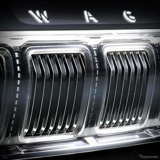 ジープ・グランド ワゴニア 新型のティザーイメージ《photo by Jeep》