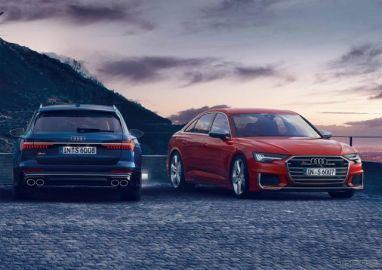 アウディ S6/S6アバント/S7スポーツバック 新型 発売へ、最高出力450psの2.9リットルV6ターボ搭載
