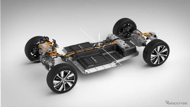 XC40 Recharge Plug-in hybrid T5国内販売開始《写真提供 ボルボ・カー・ジャパン》
