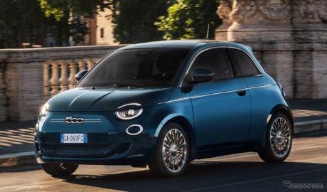 フィアット 500 新型、ハッチバックの受注を欧州で開始…テストドライブ映像も公開