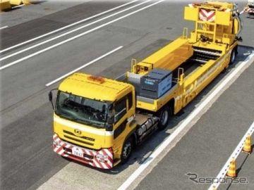 NEXCO中日本、大型移動式防護車両を「トランスフォーマー」と命名